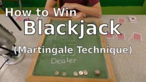 Martingale System blackjack